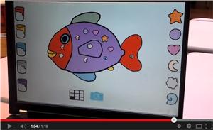 Le tutoriel du Poisson: composition à retrouver dans le BIDM pour la maternelle et la primaire
