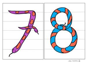 Le sept et le huit des puzzles math