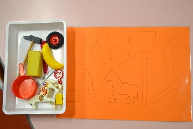 Retrouver la silhouette des objets de la classe.