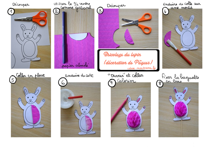 Pin by e m 888 on d co easter d coration p ques pinterest Bricolage paques idees deco maison