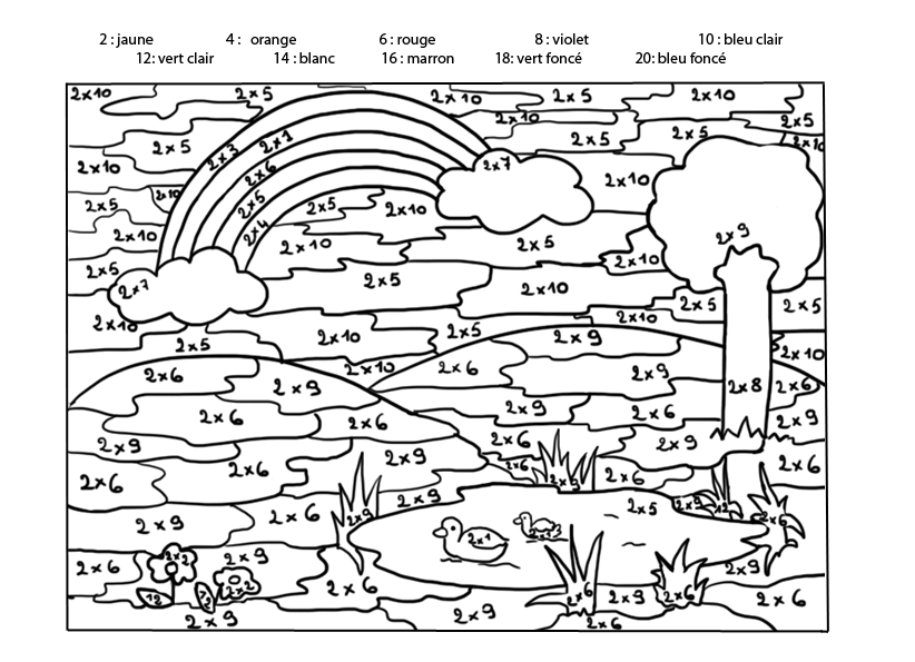 Http idee - Coloriage code ce1 ...