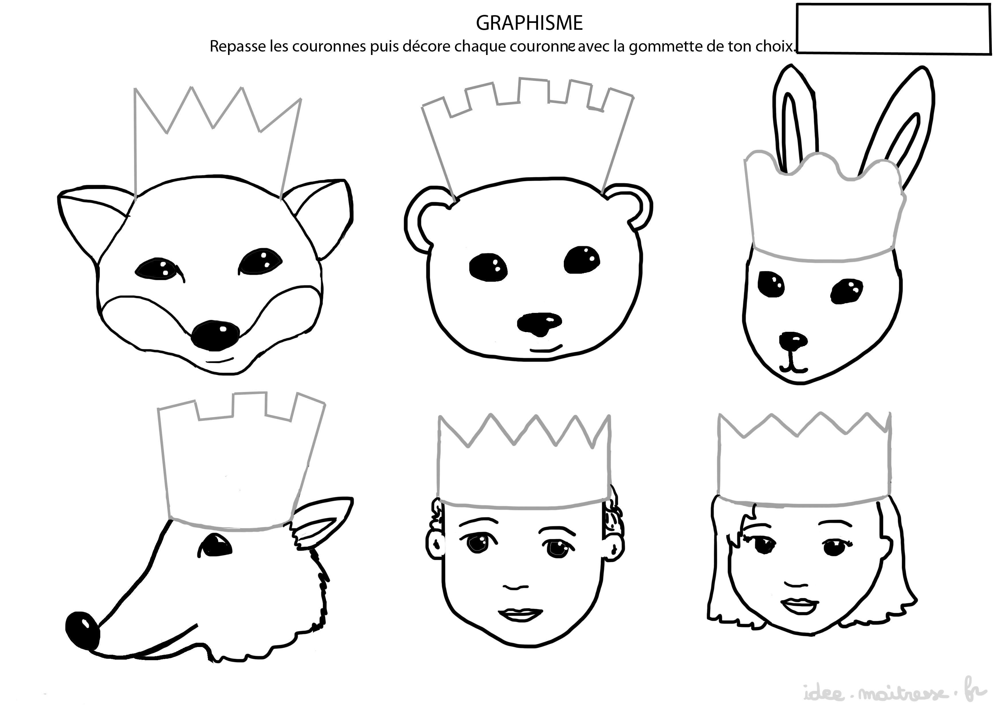 Exercices de graphismes pour la maternelle et le primaire - Image roule galette imprimer ...