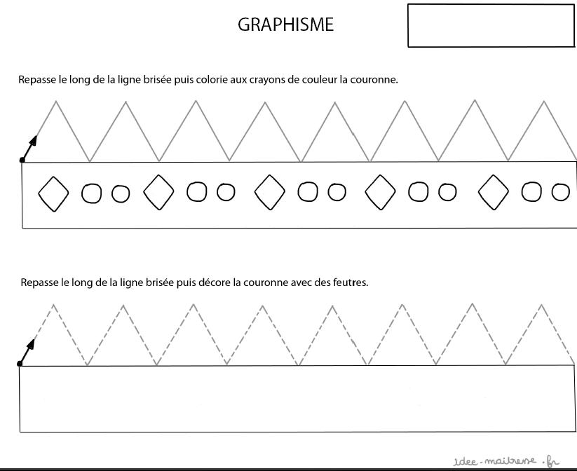 Connu Exercices de graphismes pour la maternelle et le primaire BZ15