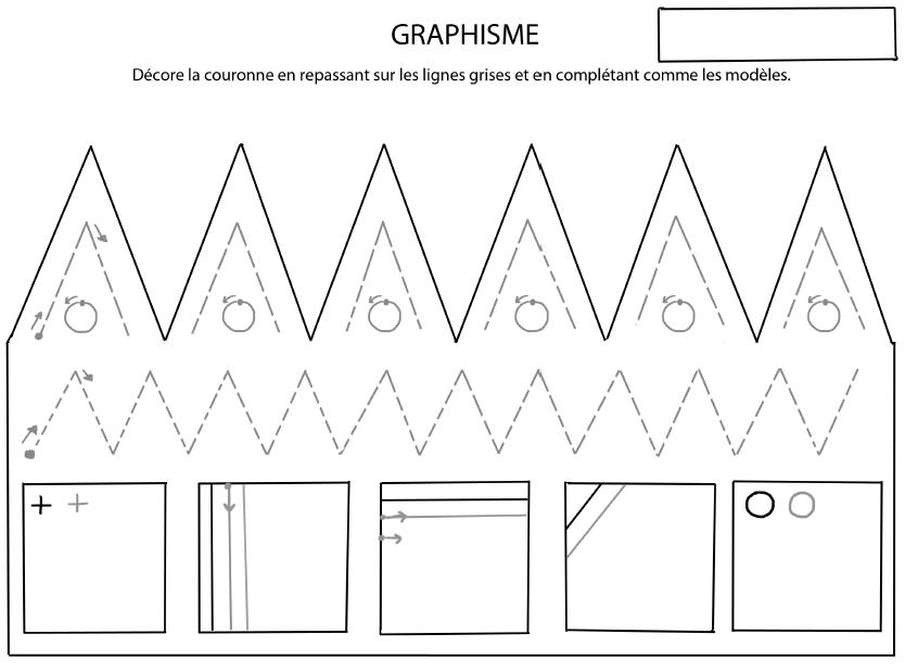 Gut gemocht Exercices de graphismes pour la maternelle et le primaire JC88
