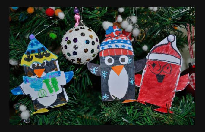 Bricolages r aliser en classe de maternelle et du primaire - Bricolage de noel facile a imprimer ...