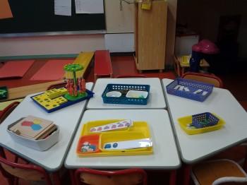 Ateliers mathématiques en classe de maternelle