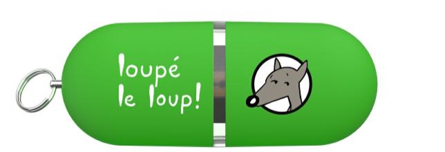 Clé USB du jeu Loupé le loup
