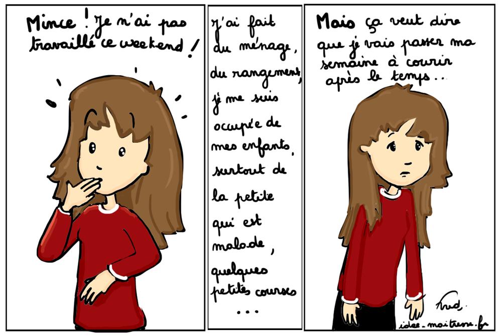 week-end versus semaine