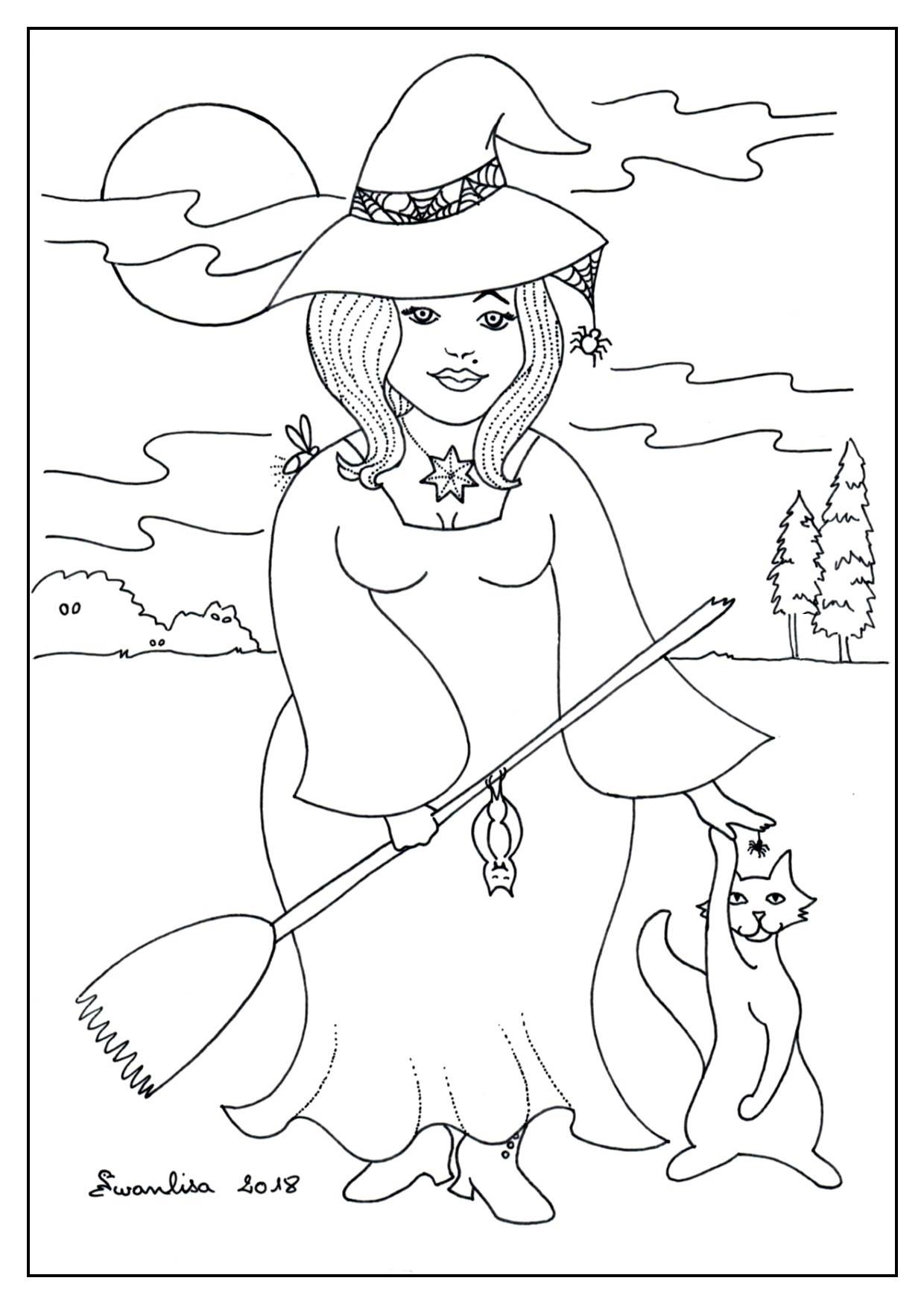 Coloriage Halloween Archives