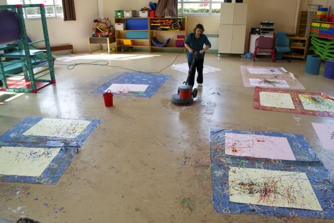 Jackson Pollock En Maternelle Sur Tni Tbi