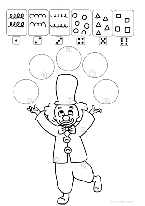 Coloriage Cirque Ps.Exercices De Graphismes Pour La Maternelle Et Le Primaire